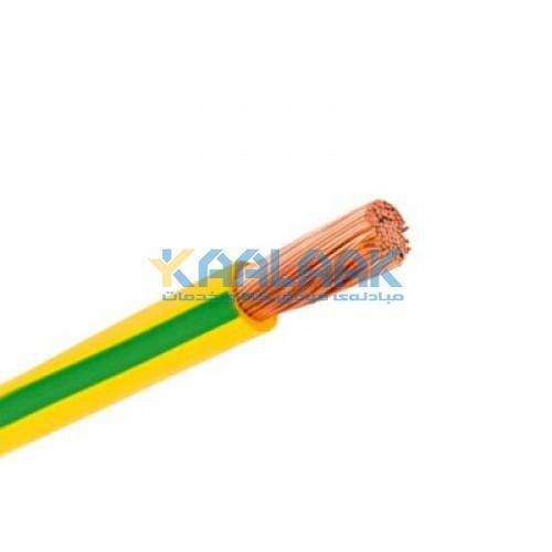 سیم تک رشته افشان با عایق PVC